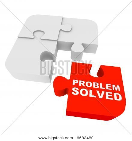 Puzzle Pieces - Problem Solved