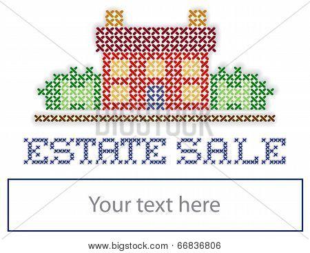 Real Estate Yard Sign Estate Sale