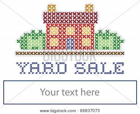 Real Estate Sign, Yard Sale