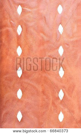 Verical Background From The Artificial Leather