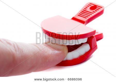 Nail Biting Man