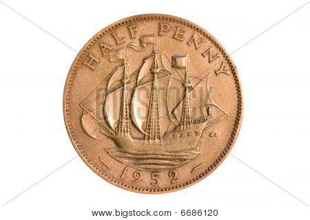 Half Penny 1952