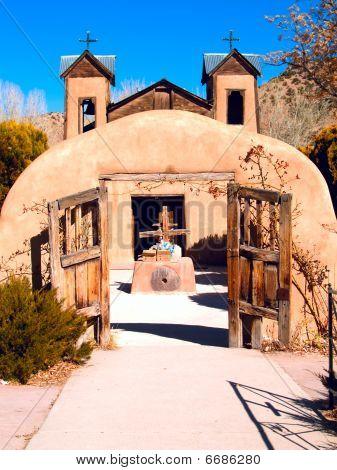 El Santuario de Chimayo in Chimayo, New Mexico