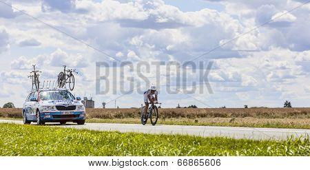 The Cyclist Sandy Casar