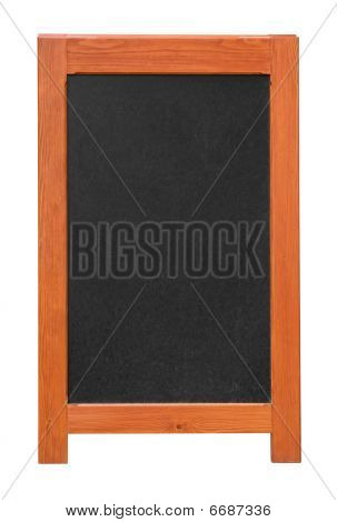 Stand Chalkboard Cutout