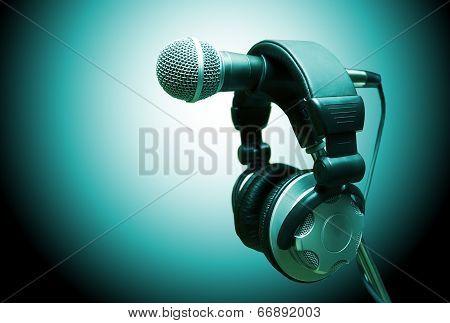 Concept audio and studio recording