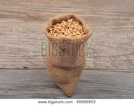 Cereal Bag On Wood
