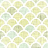 vector abstract  textile green fishscale fishscale seamless pattern background poster