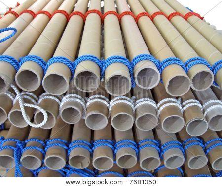 Color Rope Heap, Construction Concept