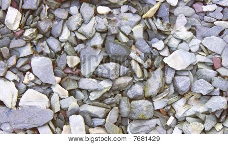 Grey Shale Stone Background Texture