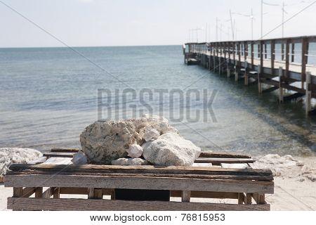 Ocean View And A Pier