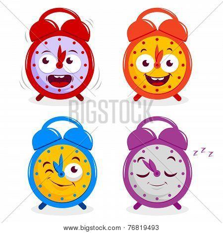 Happy alarm clocks