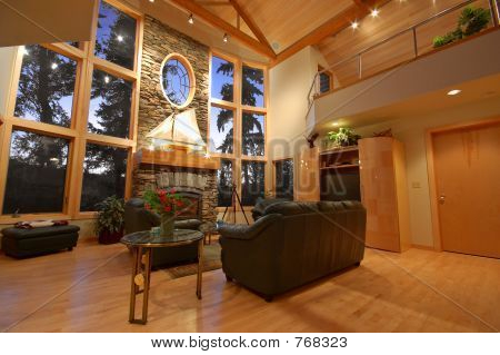 Interior of an Upscale House