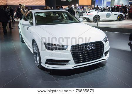 Audi A7 2015 On Display