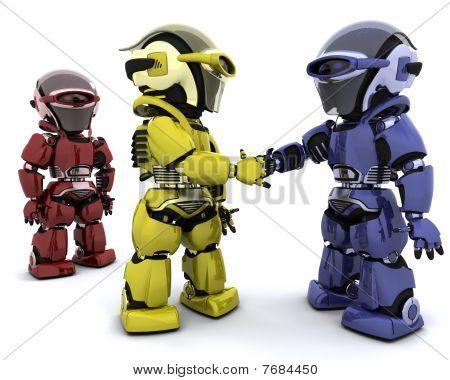 Roboter im Abkommen