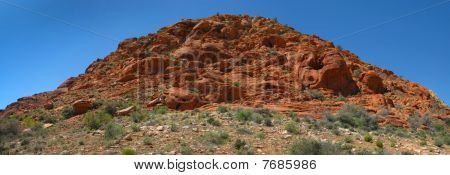 Red Rock Canyon Mountainside - Nevada