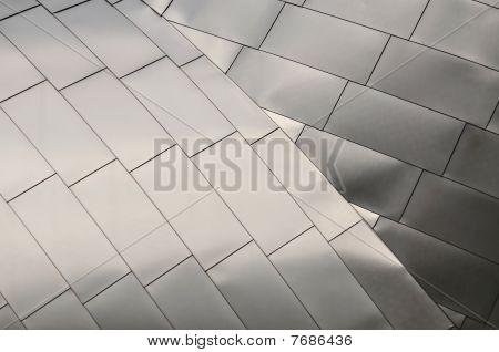 Detail of a Titanium Roof