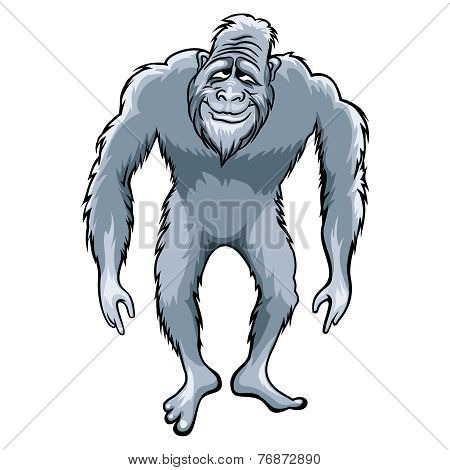 Bigfoot illustration