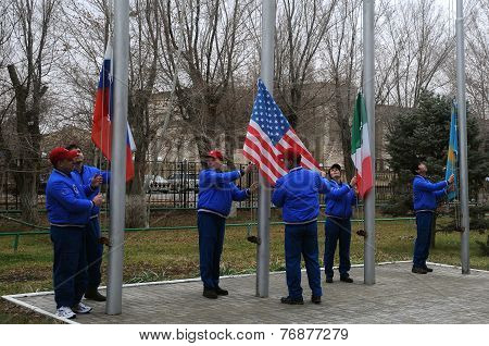 Flag Raising Ceremony