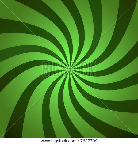 Green Burst Twist