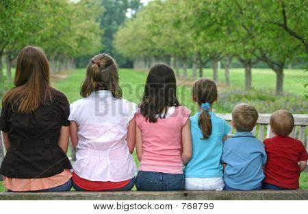 Children in a Row