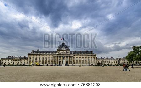 Ecole Militaire In Paris, France