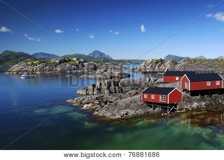 Scandinavian Fishing Village