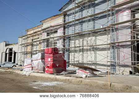 New Contruction, Exterior Walls