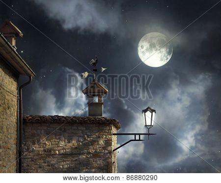Night Above The Roofs
