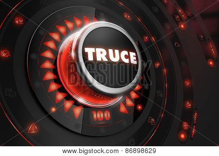 Truce Controller on Black Console.