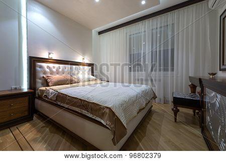 Interior Design:  Modern Bedroom