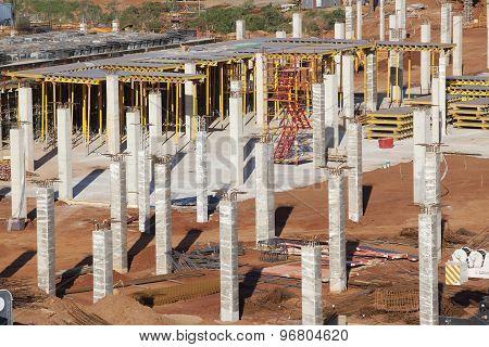 Building Construction Closeup Detail