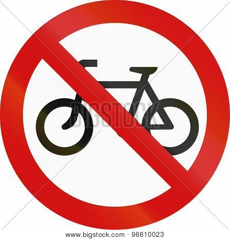 No Bicycles In Ireland