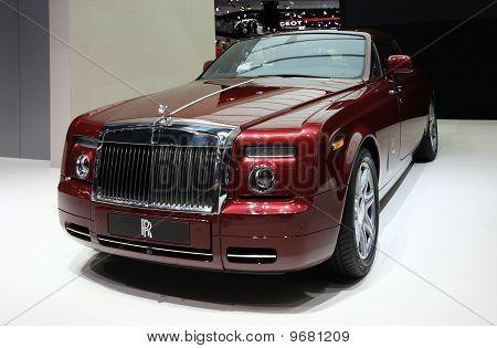 Rolls-royce Phantom Coupe At Paris Motor Show