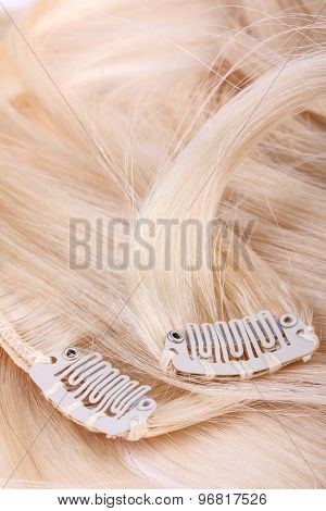 Blond Hair Extension