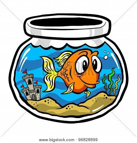 Cartoon Fishbowl