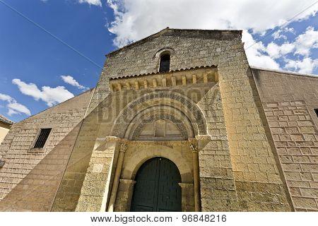 Segovia Romanesque Church Of San Sebastian