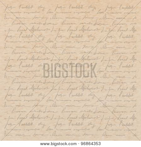 Scrapbooking Letter Background