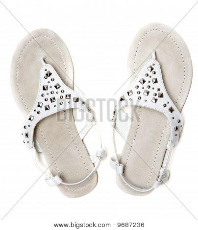 Leather Feminine Sandals