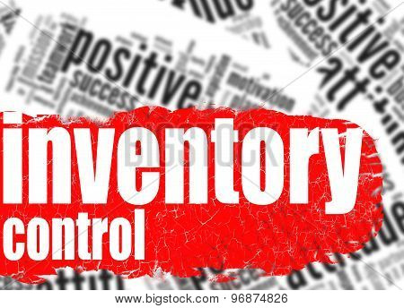 Word Cloud Inventory Control