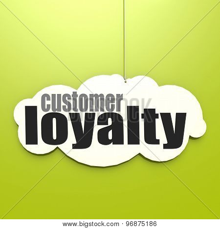 White Cloud With Customer Loyalty
