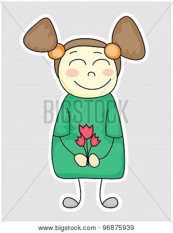 Fanny Cartoon Girl