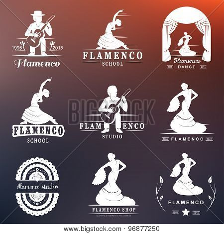 Set Logo And Badges Flamenco