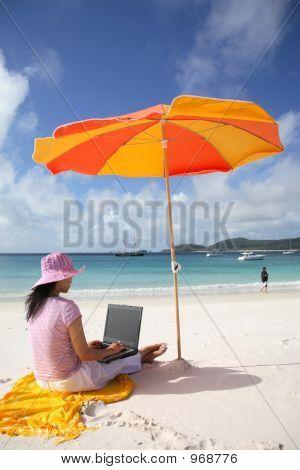 Working Woman At Whitsunday