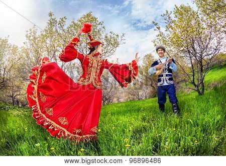 Kazakh Music And Dancing