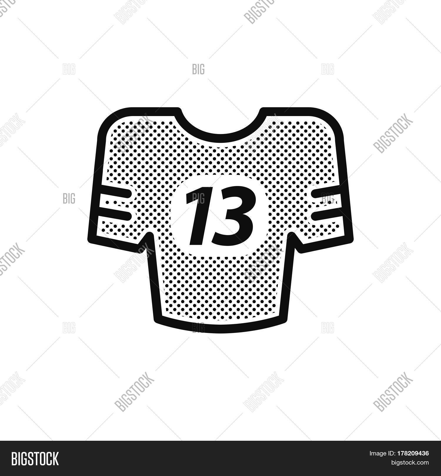 Shirts american football icon vector photo bigstock American football style t shirts