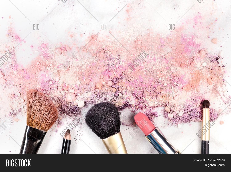 Makeup Brushes Image Photo Free Trial Bigstock