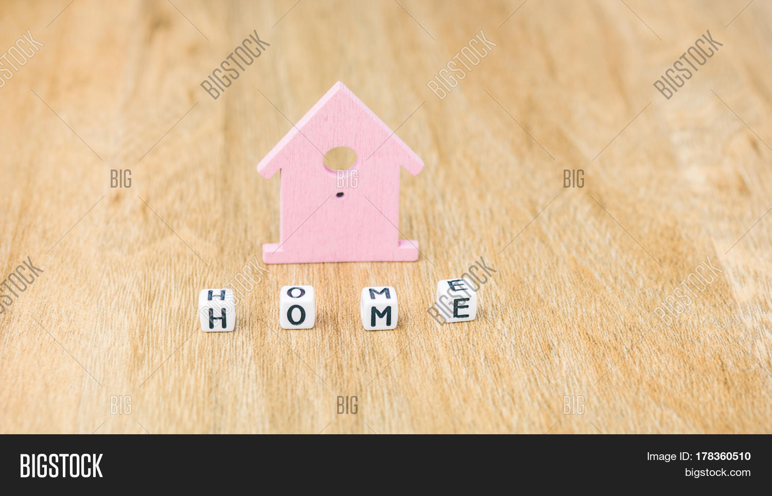 HOME Word Cube Letters Image & Photo (Free Trial) | Bigstock
