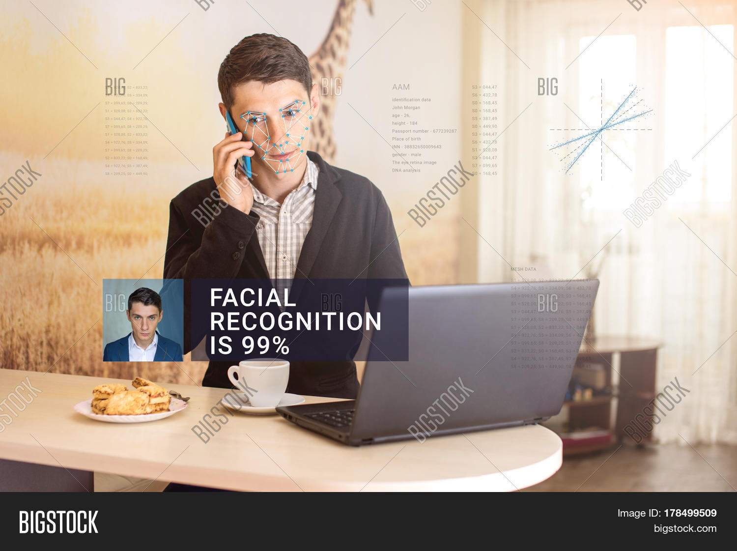 Recognition Male Face Image & Photo (Free Trial) | Bigstock