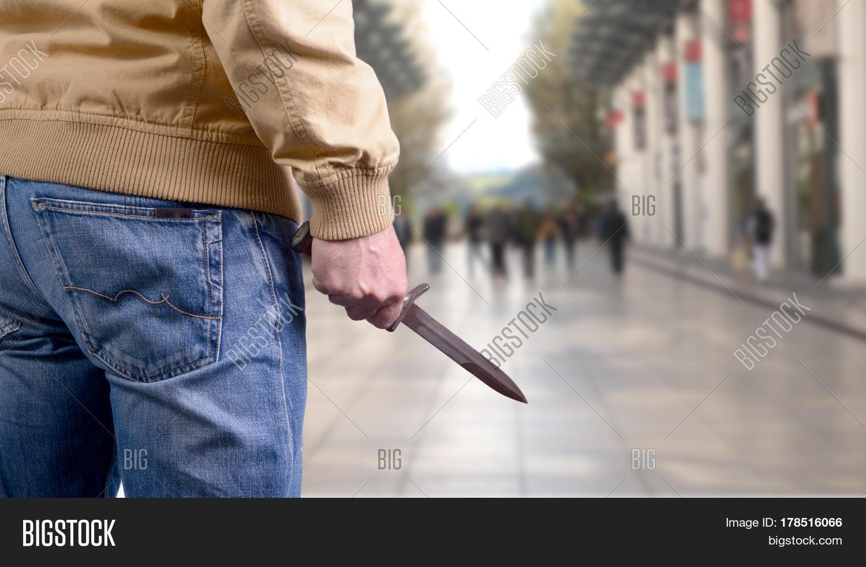 Killer Man Attacking Image & Photo (Free Trial) | Bigstock